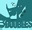 3 Doubles Producciones Logo